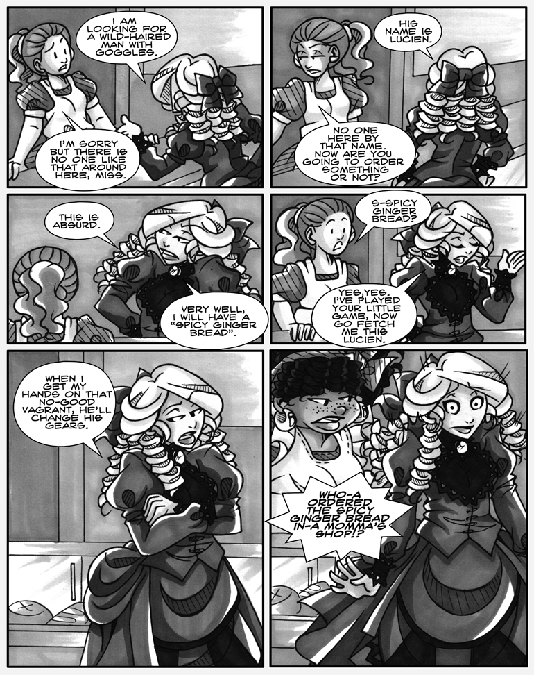 What a soothing, melodic and completely angelic voice momma has! Look how relaxed Jill is in that last panel!