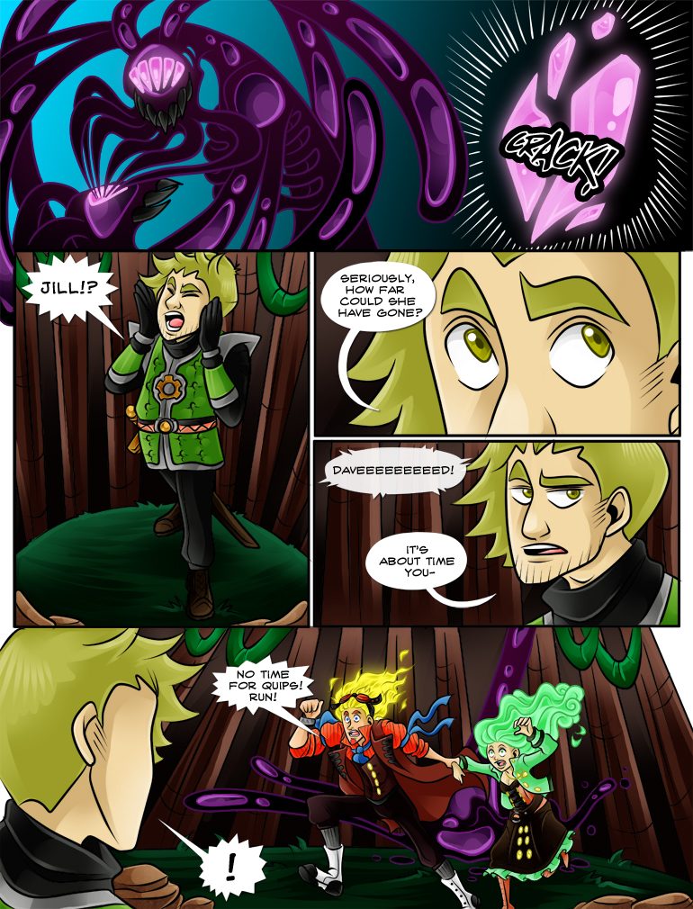 D: You have never not had time for a quip! What have you done with the real Lucien!?